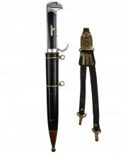 Italian MSVN Fascist Leader's Dagger [M1939] with Hangers