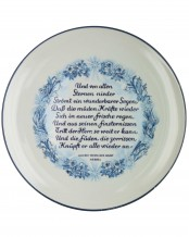 SS Plate - Julfest 1944 by Allach Porcelain