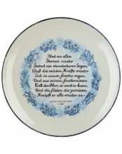 Plate - Julfest 1944 by Allach Porcelain