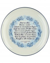 Julfest SS Plate 1944 by Allach Porcelain