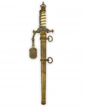 Imperial Naval Dirk [M1905] with Navy-Knot & Ivory Grip