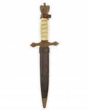 Short Navy Officer Dagger [2nd Model] by C. Jul. Herbertz Solingen