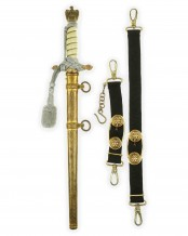 Navy Officer Dagger [2nd Model] by Carl Eickhorn Solingen