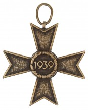 War Merit Cross 2nd Class without swords - 2nd Class 1939