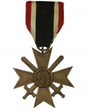 Kriegsverdienstkreuz mit Schwertern 2.Klasse 1939 am Band