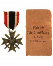 Крест «За военные заслуги» 2-й класс с мечами