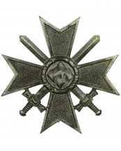 War Merit Cross First Class with Swords by 4 (Steinhauer)