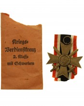 German War Merit Cross 2nd Class with Swords