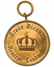 Медаль «За службу в резерве и ландвере» II класса