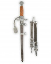 Luftwaffe Dagger [1937] with Hangers and Portepee by Eickhorn Solingen
