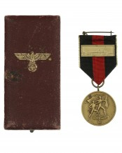 Czech Entry Medal with Ribbon