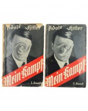 Mein Kampf - My Struggle (Edition I, II) by Adolf Hitler