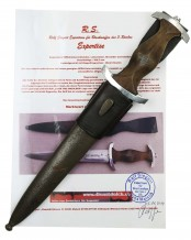 NPEA Student Leader's Dagger [M1935] by Carl Eickhorn Solingen