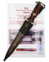NPEA Student Leader's Dagger [M1935] by Karl Burgsmüller Berlin