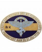 NSFK Badge: Erste Luftrennen des NS-Fliegerkorps Frankfurt-Main 1938