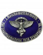 NSFK Badge: I. Reichswettbewerb für Saalflugmodelle 1938 Frankfurt