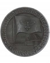 NSFK Plakette: Reichswettkampf des NS-Fliegerkorps Düsseldorf
