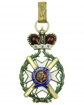 Order of the Cross of Takowo 1. model (1865-1868), Commander's Cross
