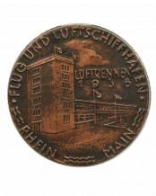 """Pin """"Flug und Luftschiffhafen Rhein Main"""" - E.F. Wiedmann Frankfurt"""