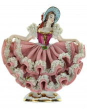 Porcelain figurine dancing girl - WR No. 105