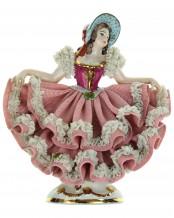 Porzellanfigur Tänzerin - WR Nr. 105