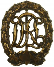 DRL Sport Badge; Bronze Grade by Wernstein Jena