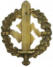 SA-Sportabzeichen in Bronze (3.Typ) – Fechler Bernsbach/SA.