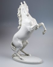 Rearing Horse (Allach Model No. 95) by Adolf Röhring