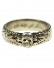 Death's Head Ring of SS Untersturmführer J.Detter