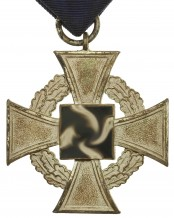 German Faithful Service Medal 25