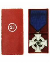 Крест «За 25 лет гражданской выслуги» - Wächter & Lange Mittweida