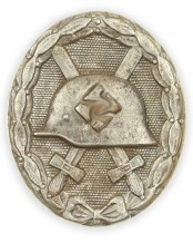 German Wound Badge Silver 1939 by L