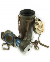 Wehrmacht Gas Mask and Canister