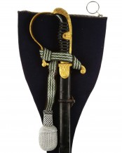 German Army Officer's Dove Head Sword by WKC Solingen