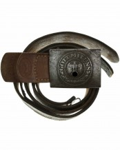 Army Belt and Buckle