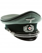 Army Mountain Pioneer Unit Officers Peaked Cap by Schellenberg