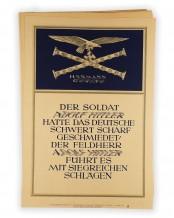 272 x Weekly slogans of the NSDAP (Wochensprüche der NSDAP)